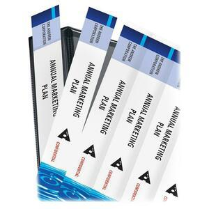 """Avery® Binder Spine Inserts - 1 1/2"""" Sheet - White - 25 / Pack. Picture 3"""