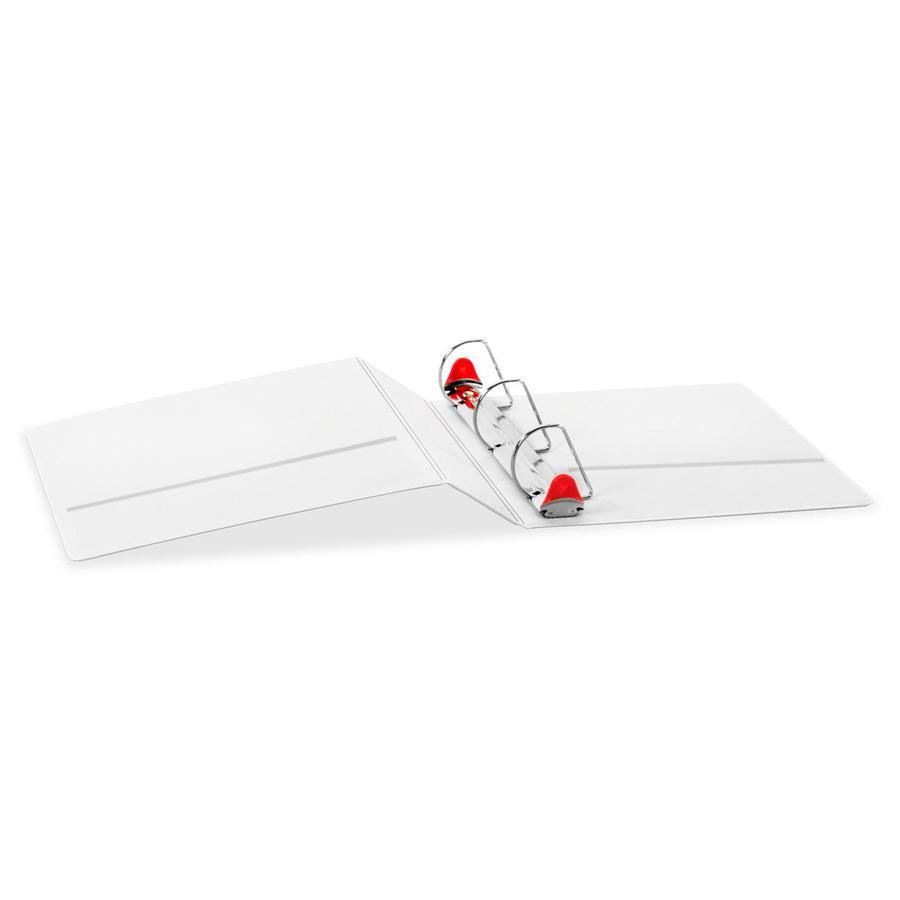 "Cardinal Xtralife ClearVue Locking Slant-D Binders - 2"" Binder Capacity - Letter - 8 1/2"" x 11"" Sheet Size - 540 Sheet Capacity - 2 1/2"" Spine Width - 3 x D-Ring Fastener(s) - 2 Inside Front & Back Po. Picture 2"