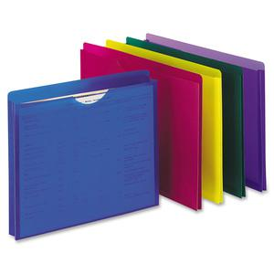 """Pendaflex Letter File Jacket - 8 1/2"""" x 11"""" - 1"""" Expansion - Poly - Assorted - 10 / Pack. Picture 2"""