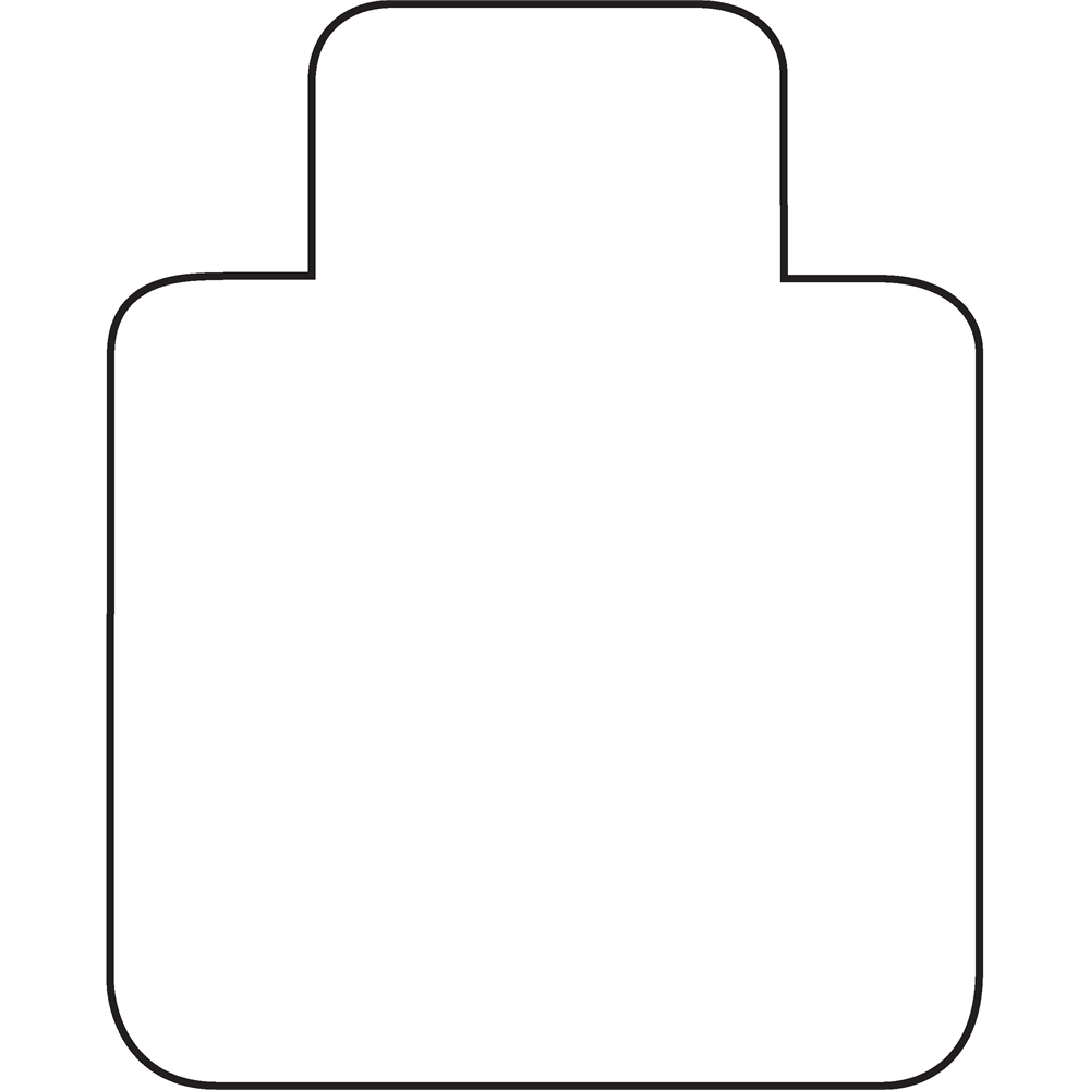 """Cleartex Ultimat Chair Mat, Clear Polycarbonate, For Low & Medium Pile Carpets (up to 1/2""""), Rectangular with Lip, Size 48"""" x 60"""". Picture 5"""