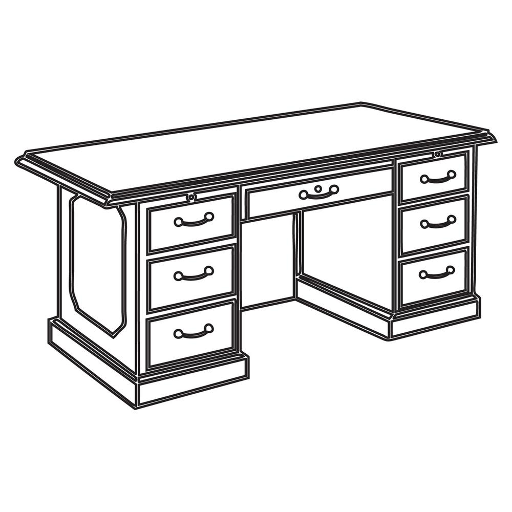dmi governor u0026 39 s collection mahogany furniture - 72 u0026quot  x 30 u0026quot  x 36 u0026quot