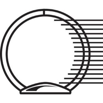 "Cardinal Spine Vue Locking Round Ring Binder - 2"" Binder Capacity - Letter - 8 1/2"" x 11"" Sheet Size - 450 Sheet Capacity - 3 x Round Ring Fastener(s) - 2 Inside Front & Back Pocket(s) - Vinyl - Black. Picture 4"