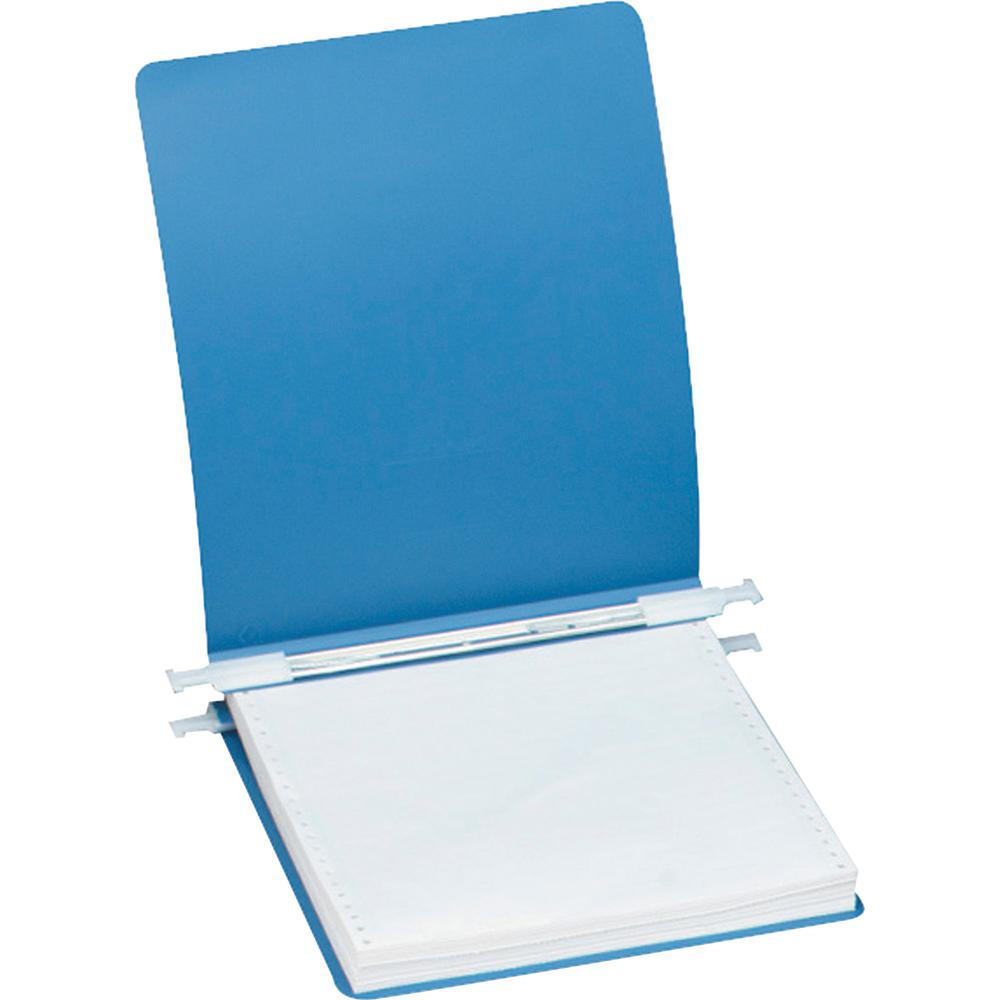 "Acco ACCOHIDE Unburst Sheet 23 point Covers - 6"" Binder Capacity - Letter - 8 1/2"" x 11"" Sheet Size - Pressboard - Blue - Recycled - Split Resistant, Crack Resistant, Tear Resistant, Flexible, Retract. Picture 2"