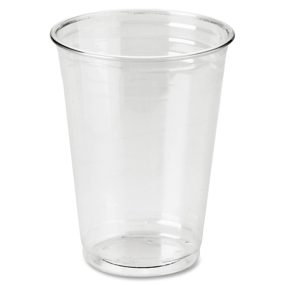 Dixie Crystal Clear Plastic Cups - 10 fl oz - 500 / Carton - Clear - Plastic - Cold Drink