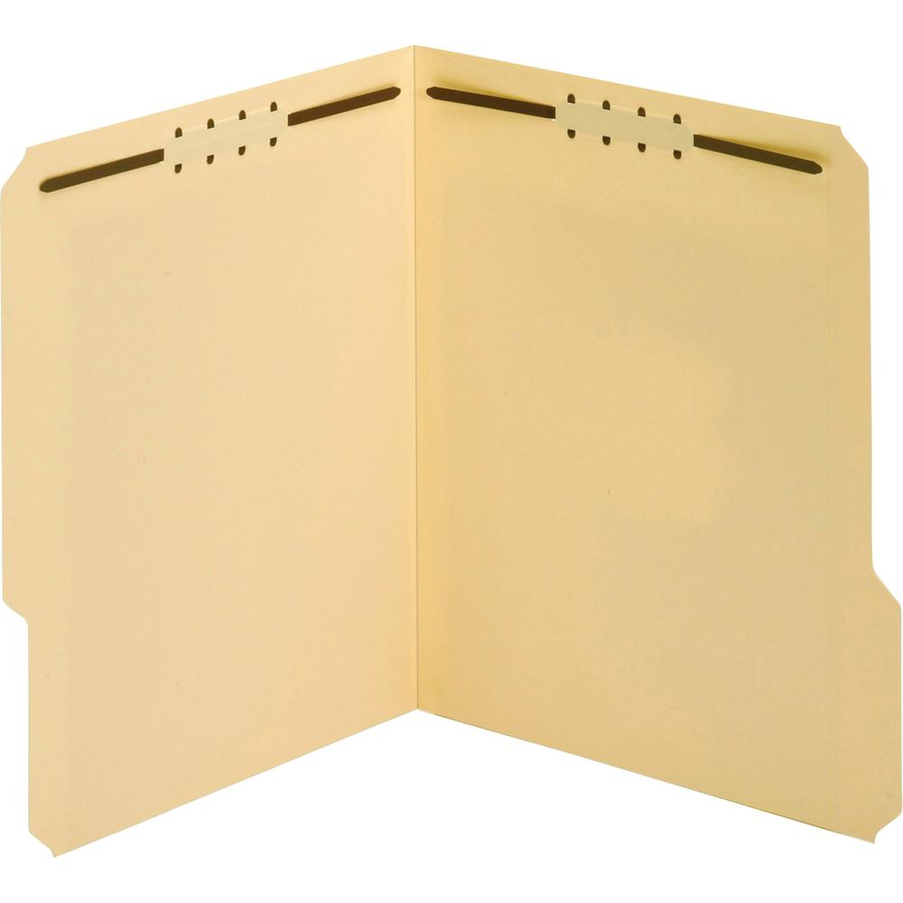 """Pendaflex 1/3 Tab Cut Letter Recycled Top Tab File Folder - 8 1/2"""" x 11"""" - 3/4"""" Expansion - 1 Fastener(s) - 2"""" Fastener Capacity for Folder - Top Tab Location - Assorted Position Tab Position - Manila. Picture 3"""