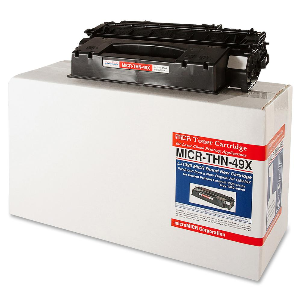 microMICR MICR Toner Cartridge - Alternative for HP 49X - Laser - 6000 Pages - Black - 1 Each. Picture 3