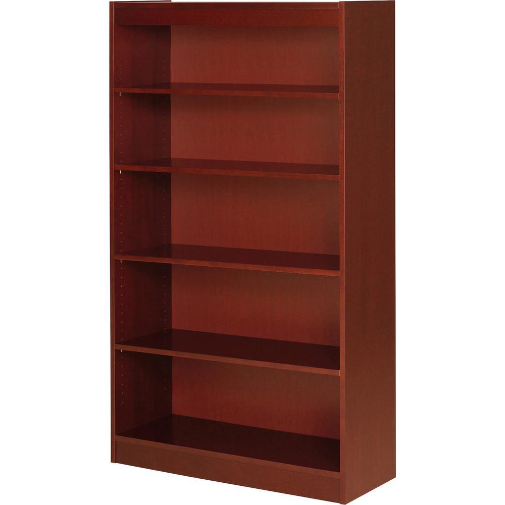 Lorell Five Shelf Panel Bookcase 36 Quot X 12 Quot X 60 Quot 5