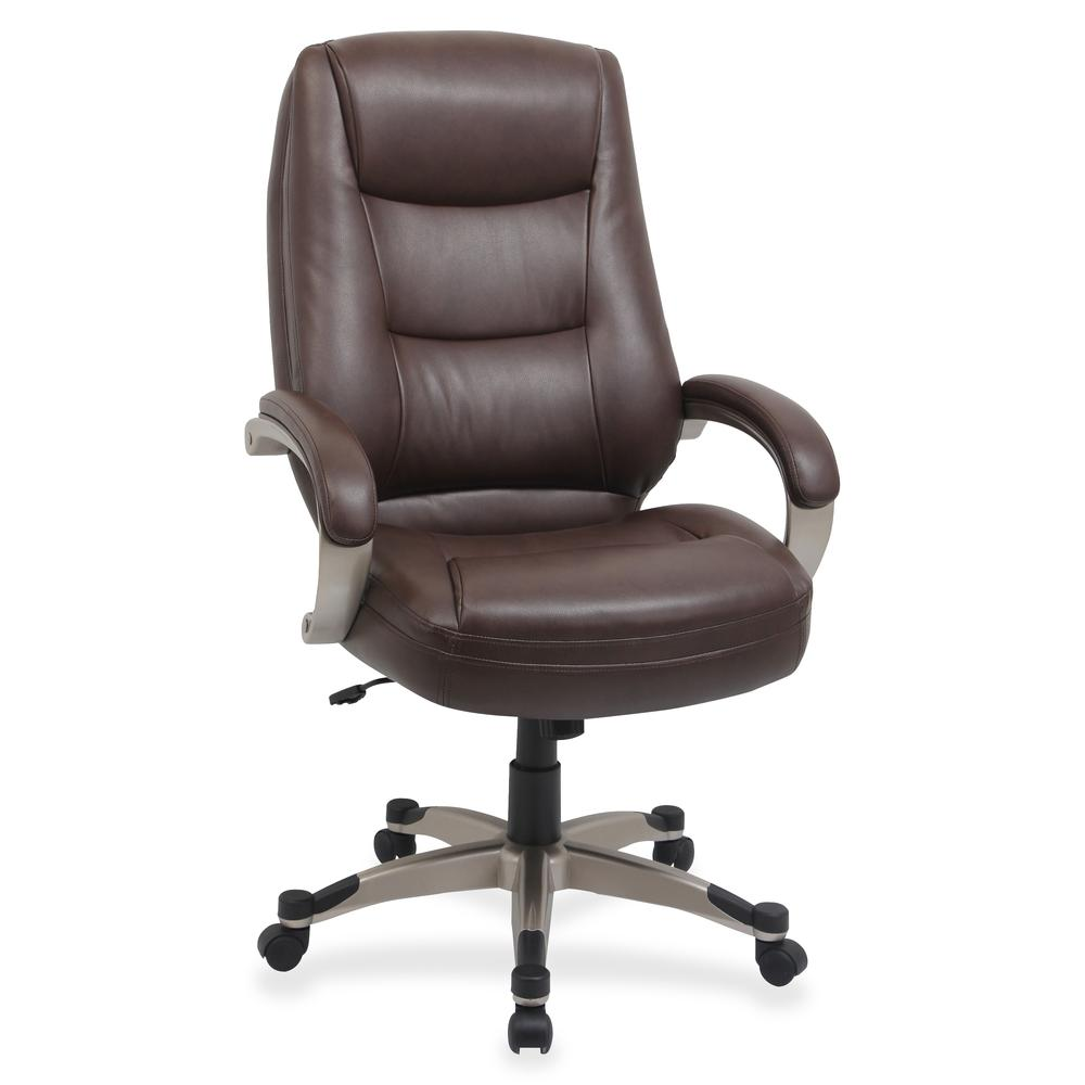 Lorell Westlake Series High Back Executive Chair Leather