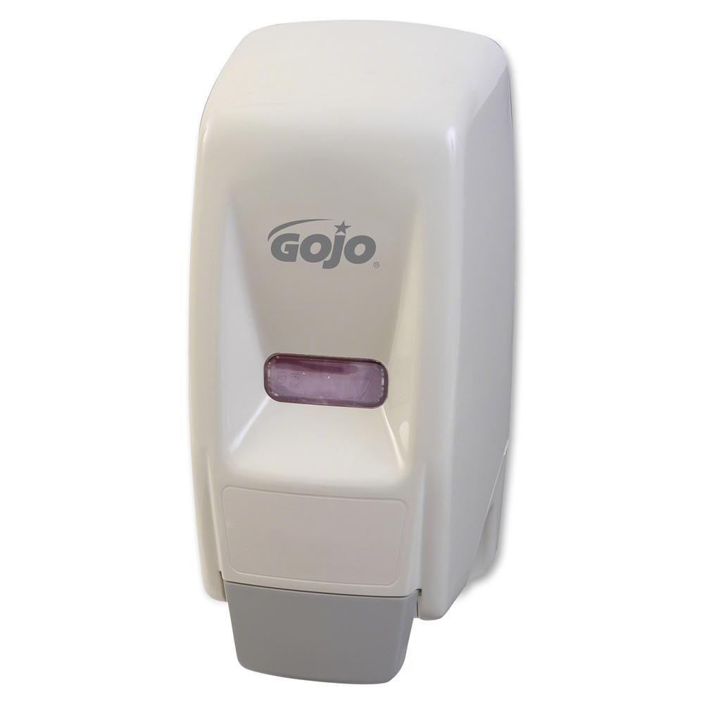 Gojo® DermaPro Enriched Lotion Soap Dispenser - Manual - 27.05 fl oz Capacity - White - 1Each. Picture 2