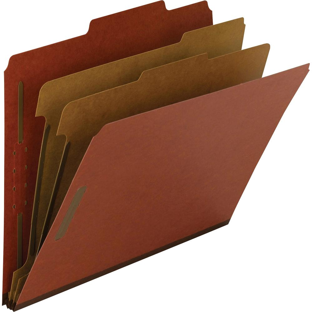 """Smead 100% Recycled Classification Folders - Letter - 8 1/2"""" x 11"""" Sheet Size - 2"""" Expansion - 2 x 2K Fastener(s) - 1"""" Fastener Capacity, 2"""" Fastener Capacity - 2/5 Tab Cut - Top Tab Location - Right . Picture 8"""
