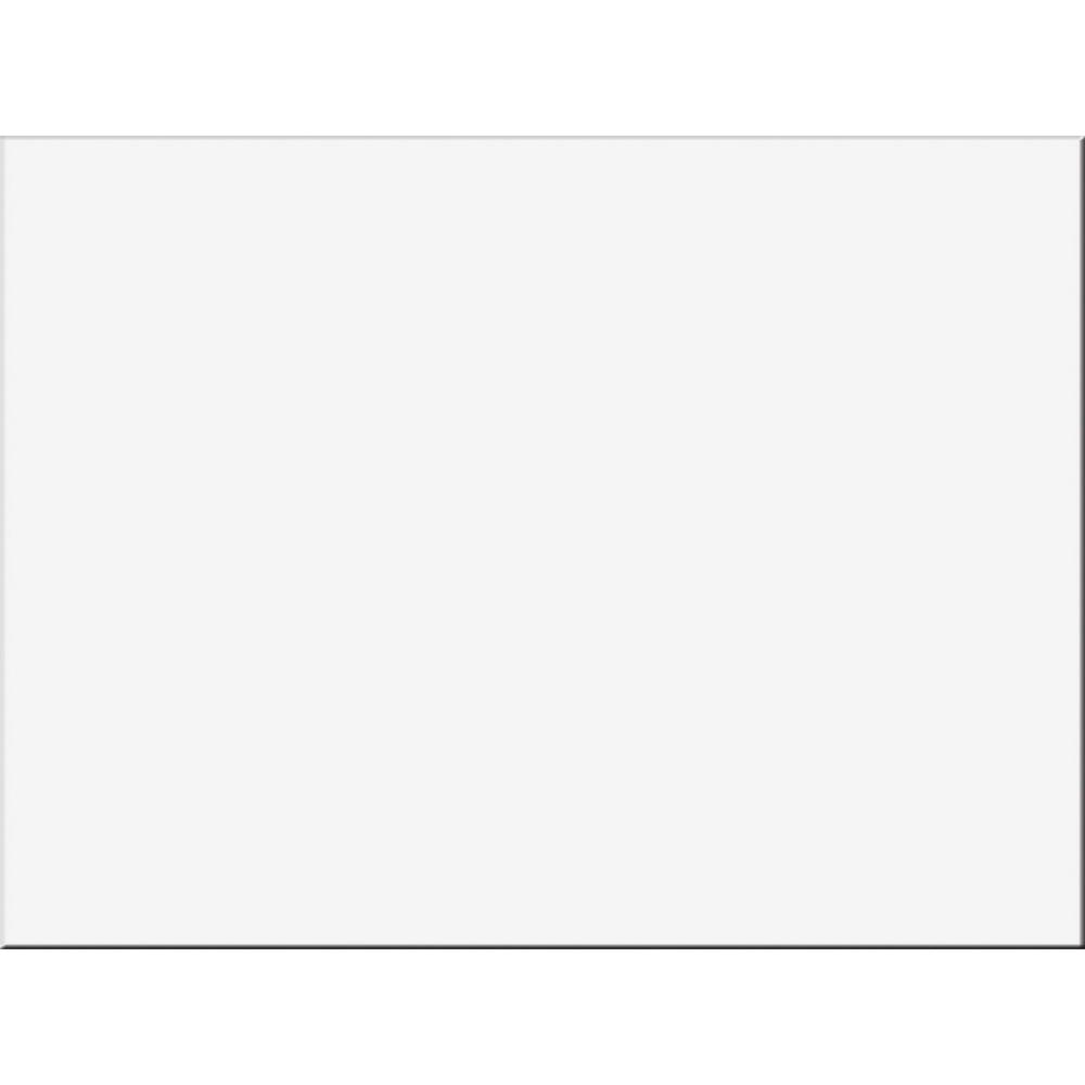 "Tru-Ray Construction Paper - Project, Bulletin Board - 24"" x 18"" - 50 / Pack - White - Sulphite. Picture 2"