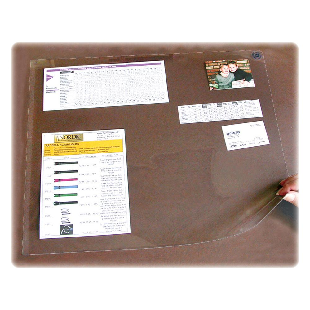 """Artistic Second Sight Clear Desk Protectors - Rectangle - 40"""" Width x 25"""" Depth - Plastic - Clear. Picture 2"""