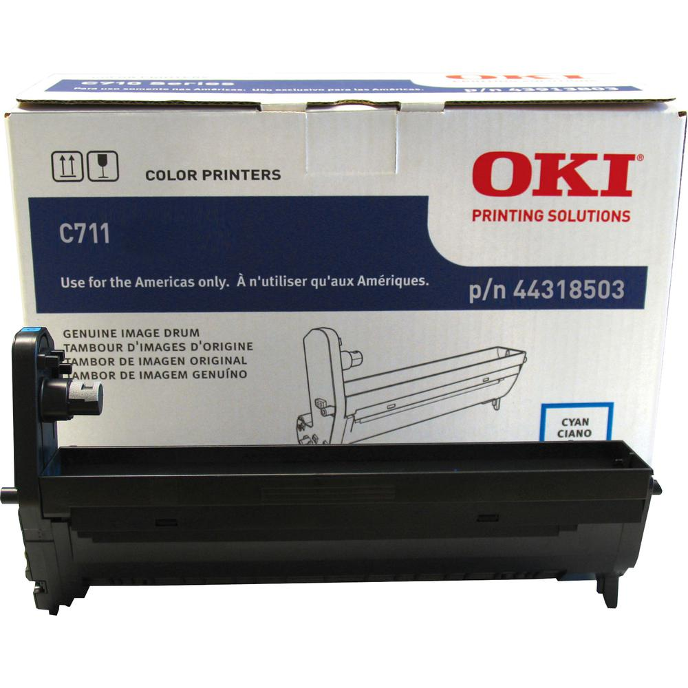 Oki 44318501/02/03/04 Image Drum - LED Print Technology - 20000 - 1 Each. Picture 3