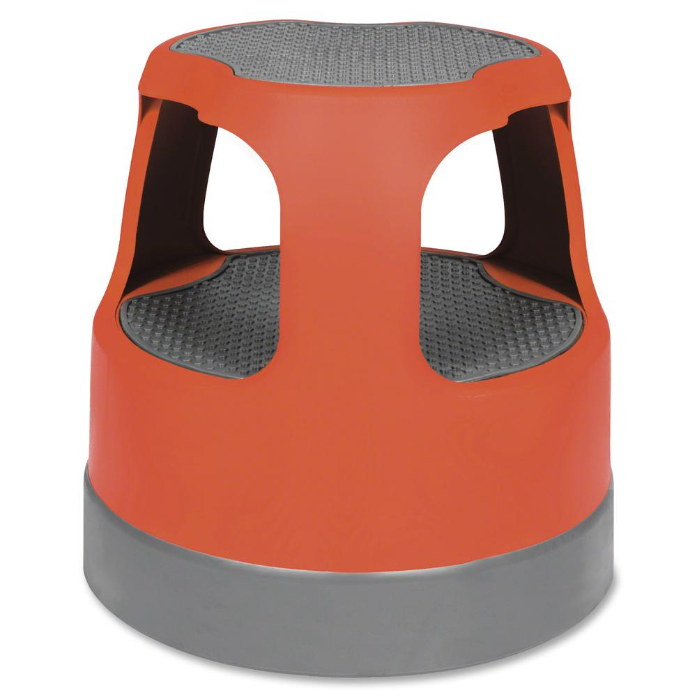 """Cramer Scooter Stool - 2 Step - 300 lb Load Capacity - 16"""" x 16"""" - Red. Picture 2"""