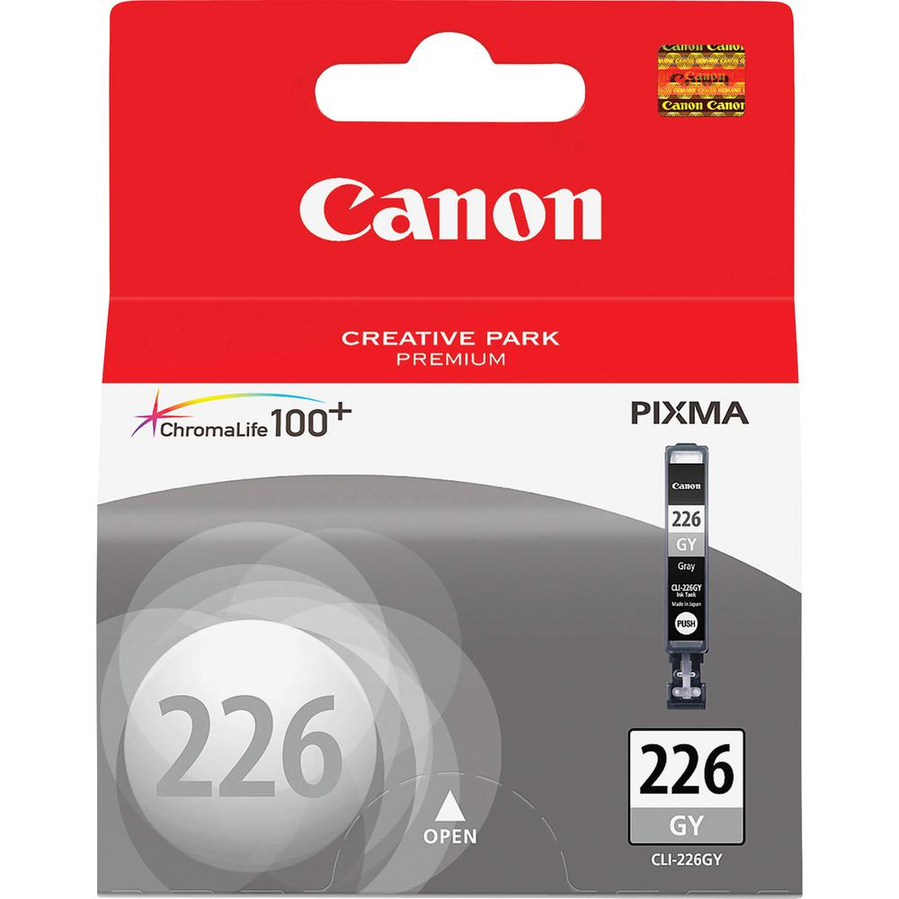Canon CLI-226GY Original Ink Cartridge - Inkjet - 515 Pages - Gray - 1 Each. Picture 2