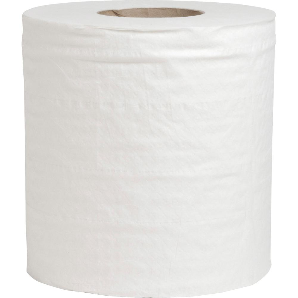 "Special Buy Center Pull Towels - 2 Ply - 7.60"" x 10"" - 600 Sheets/Roll - White - Perforated - For Restroom, Healthcare, Food Service, Kitchen - 6 / Carton"