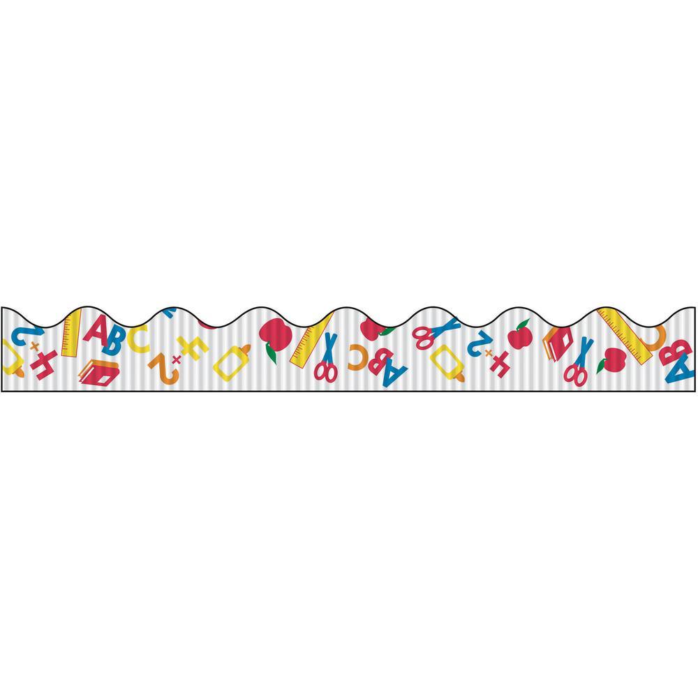 """Bordette Decorative Border - School Days Design - 2.25"""" x 25' - 1 Roll/Pkg. Picture 5"""