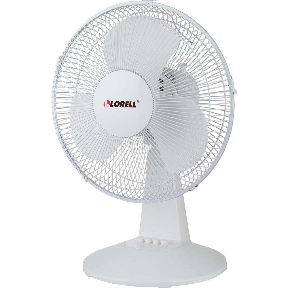 Lorell 12 Quot Oscillating Desk Fan 12 Quot Diameter 3 Speed