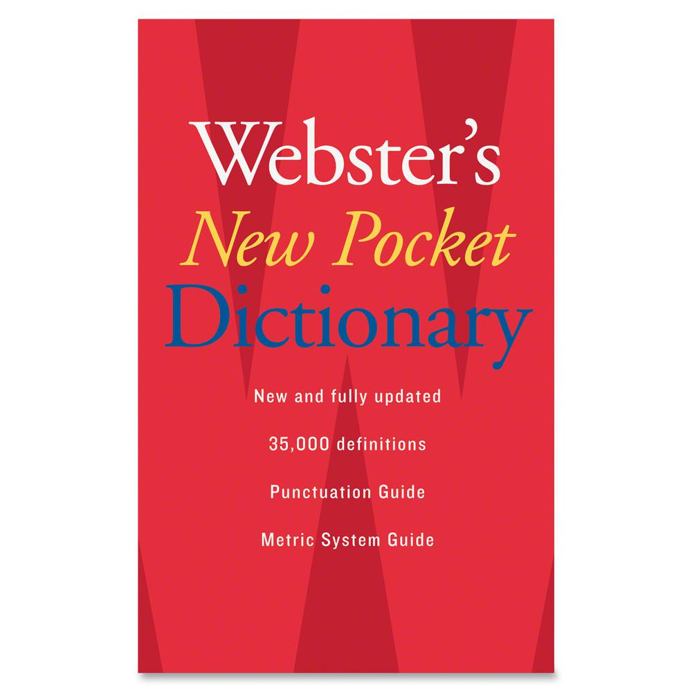 Houghton Mifflin Webster's New Pocket Dictionary Printed Book - August 2007 - Book - English. Picture 2