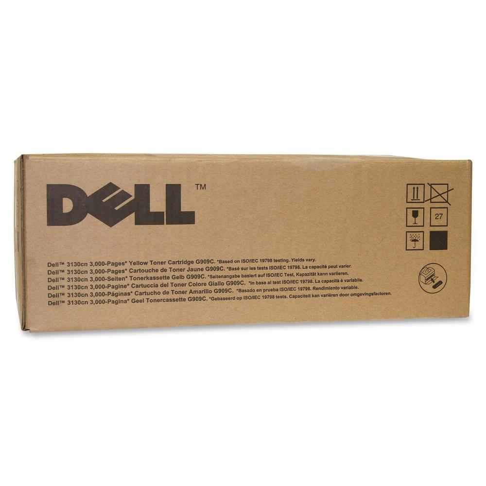 Dell G909C Original Toner Cartridge - Laser - 3000 Pages - Yellow - 1 Each