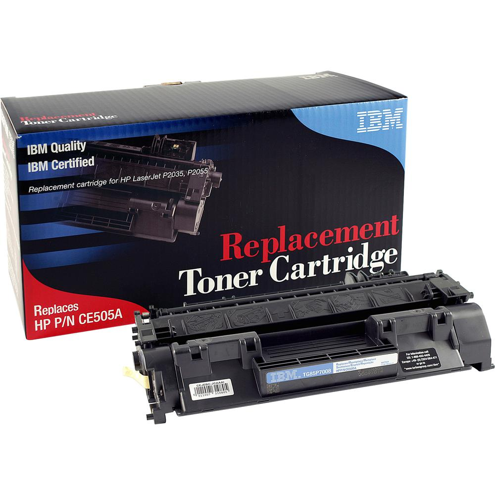IBM Remanufactured Toner Cartridge - Alternative for HP 05A - Black - Laser - 2300 Pages - 1 Each. Picture 3