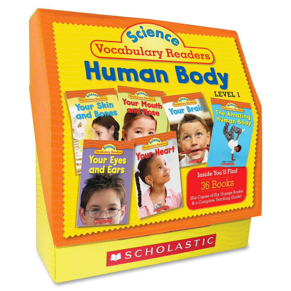 Scholastic Res. Vocabulary Readers Human Body Printed Manual - English. Picture 2
