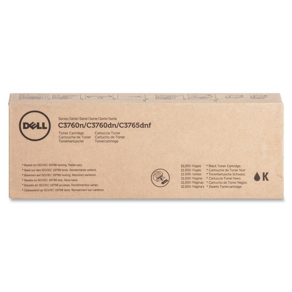 Dell Original Toner Cartridge - Laser - 11000 Pages - Black - 1 Each. Picture 3