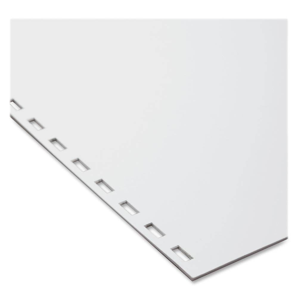 """GBC CombBind 19-Hole Punched Inkjet, Laser Binder Paper - Letter - 8 1/2"""" x 11"""" - 20 lb Basis Weight - 500 / Pack - White. Picture 2"""