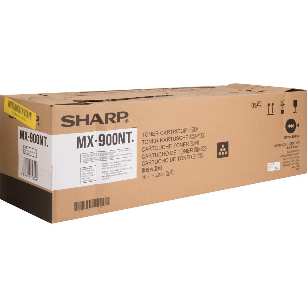 Sharp MX900NT Original Toner Cartridge - Laser - High Yield - 120000 Pages - Black