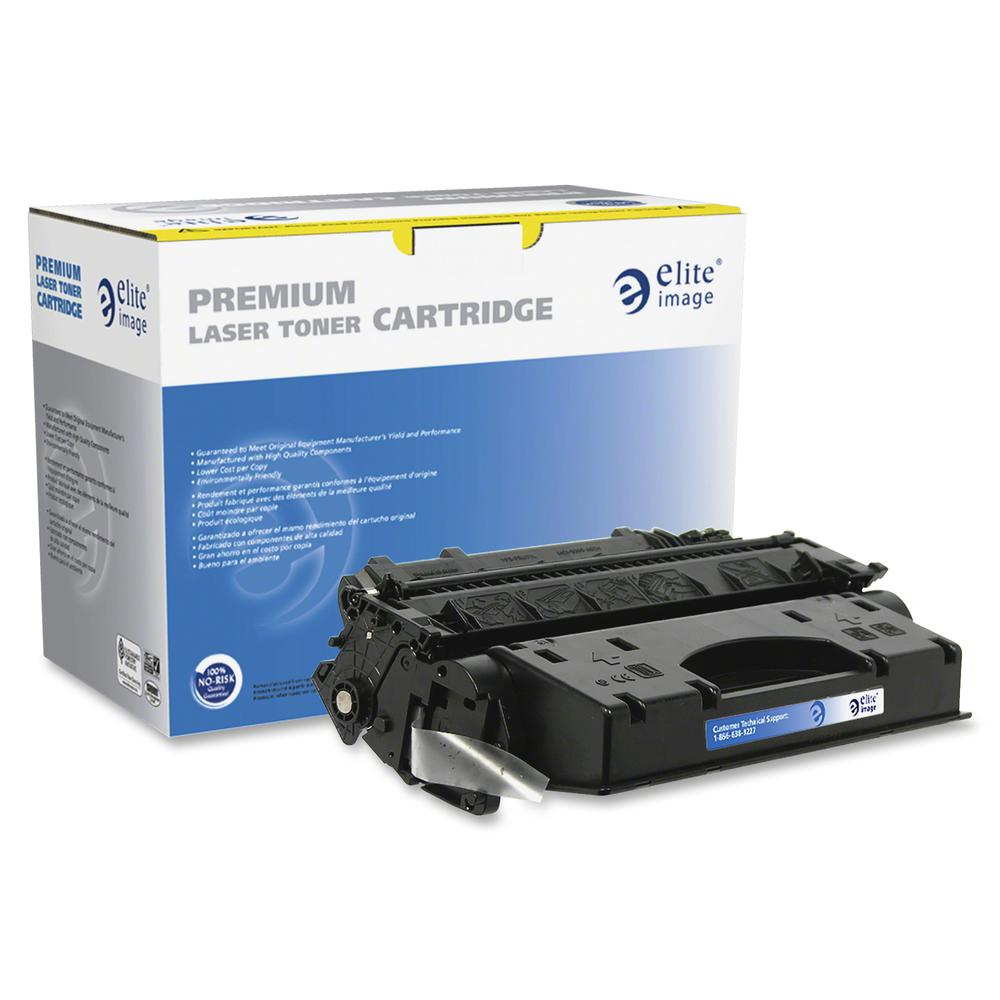 Elite Image Remanufactured Toner Cartridge - Alternative for HP 80X (CF280X) - Laser - Extended High Yield - Black - 8000 Pages - 1 Each. Picture 2