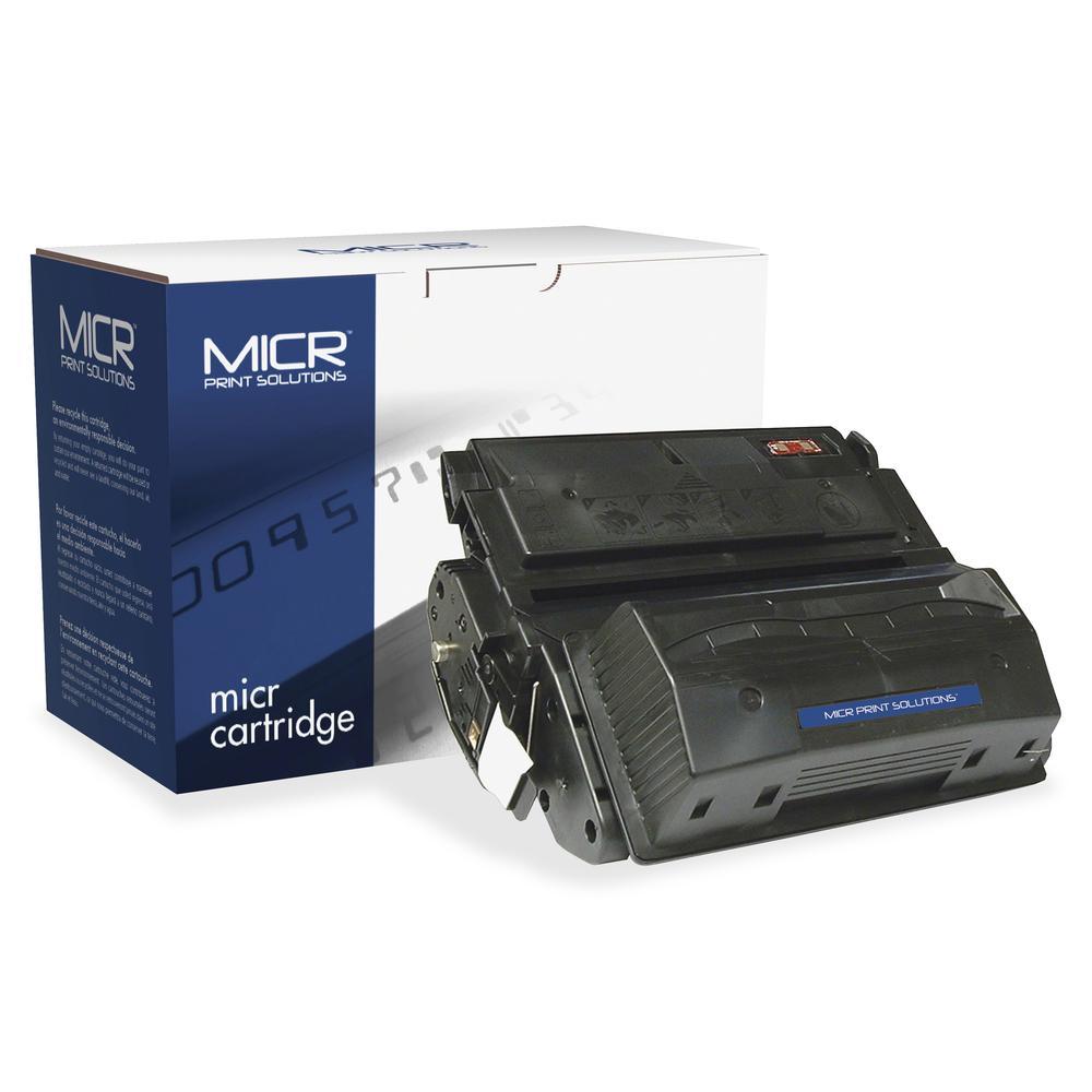 MICR Tech Remanufactured MICR Toner Cartridge - Alternative for HP 39A (Q1339A) - Laser - 18000 Pages - Black - 1 Each. Picture 3