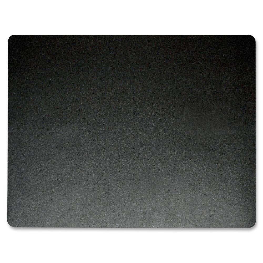 "Artistic Eco-Black Microban Desk Pad - Rectangle - 19"" Width x 24"" Depth - Black"