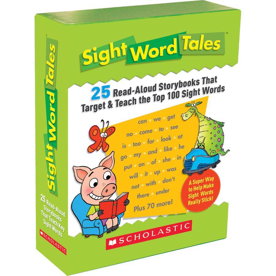Scholastic Res. Grade K-2 Sight Word Tales Box Set Printed Book - Book - Grade K-2 - English. Picture 3
