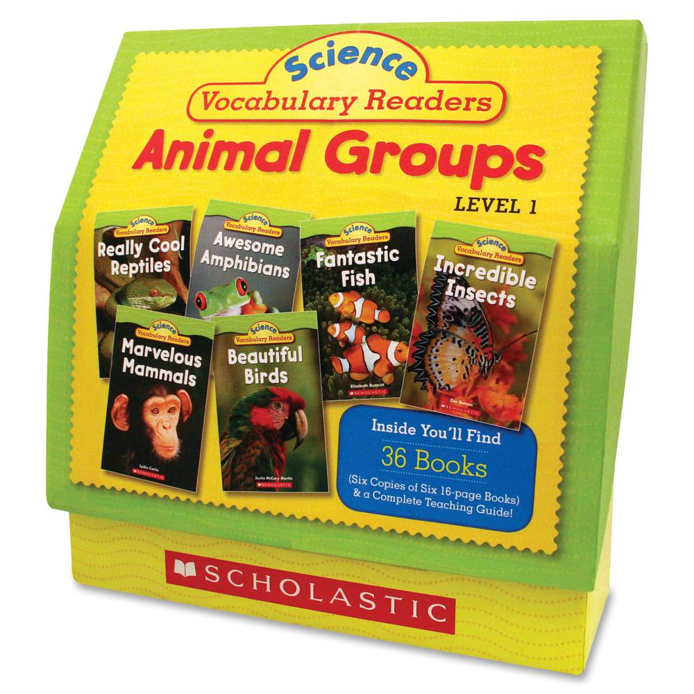 Scholastic Res. Vocabulary Readers Animal Groups Printed Book by Liza Charlesworth - Book - Grade 1-2 - English. Picture 2