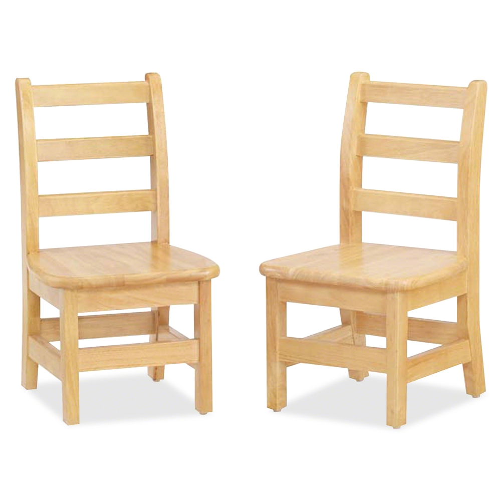 KYDZ Ladderback Chair - Solid Hardwood - Maple. Picture 4