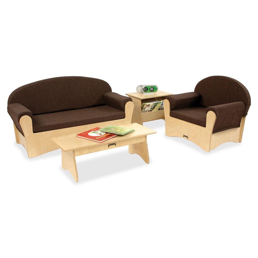 Jonti-Craft Komfy Sofa 4-piece Set - Rounded Edge. Picture 3