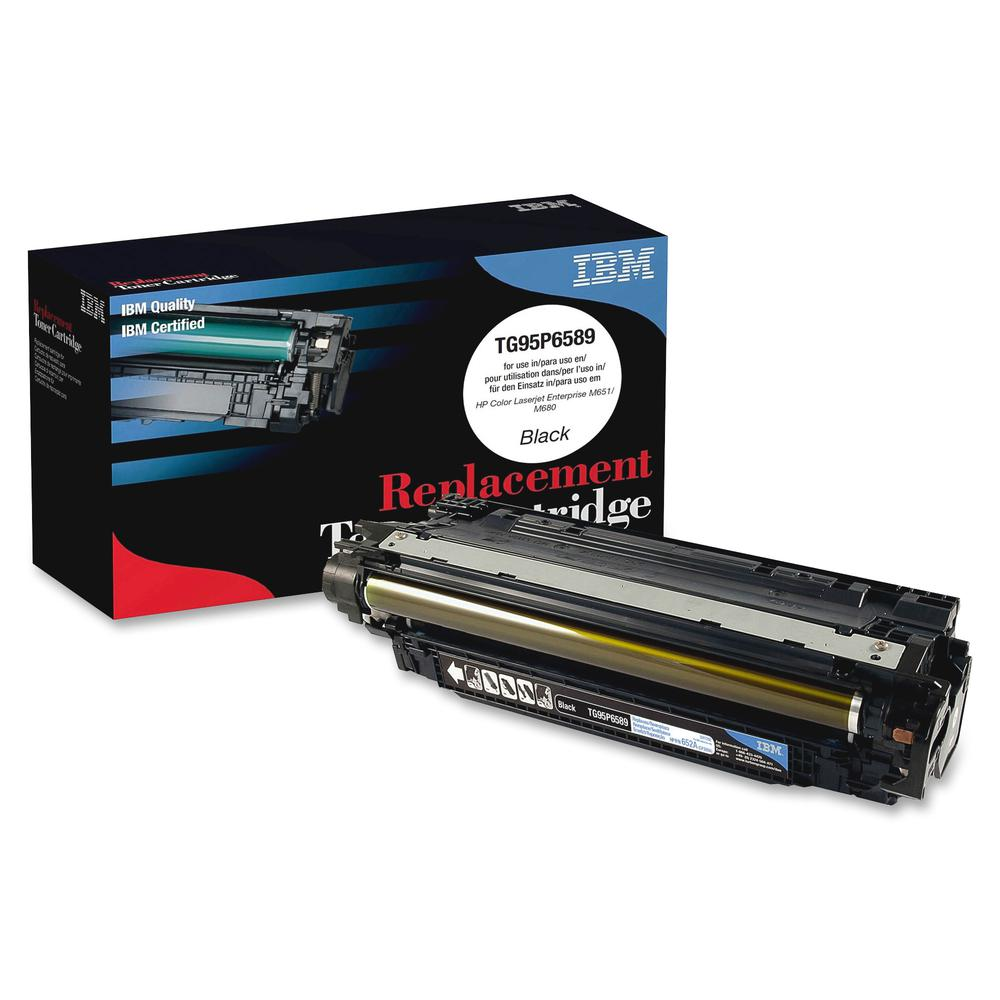 IBM Remanufactured Toner Cartridge - Alternative for HP 652A (CF320A) - Laser - 11500 Pages - Black - 1 Each. Picture 3