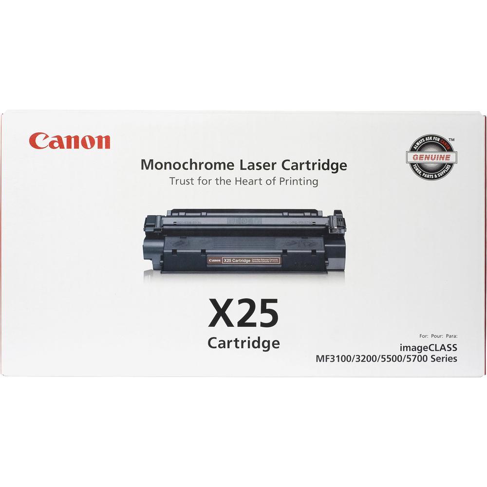 Canon Cartridge X25 Original Toner - Laser - 2500 Pages - Black - 1 Each. Picture 3