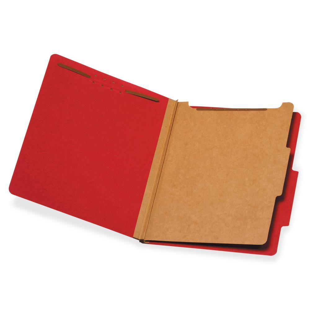 "Pendaflex 1-Divider Classification Folders - Letter - 8 1/2"" x 11"" Sheet Size - 1 3/4"" Expansion - 2 Fastener(s) - 2"" Fastener Capacity for Folder, 1"" Fastener Capacity for Divider - 2/5 Tab Cut - Top. Picture 2"