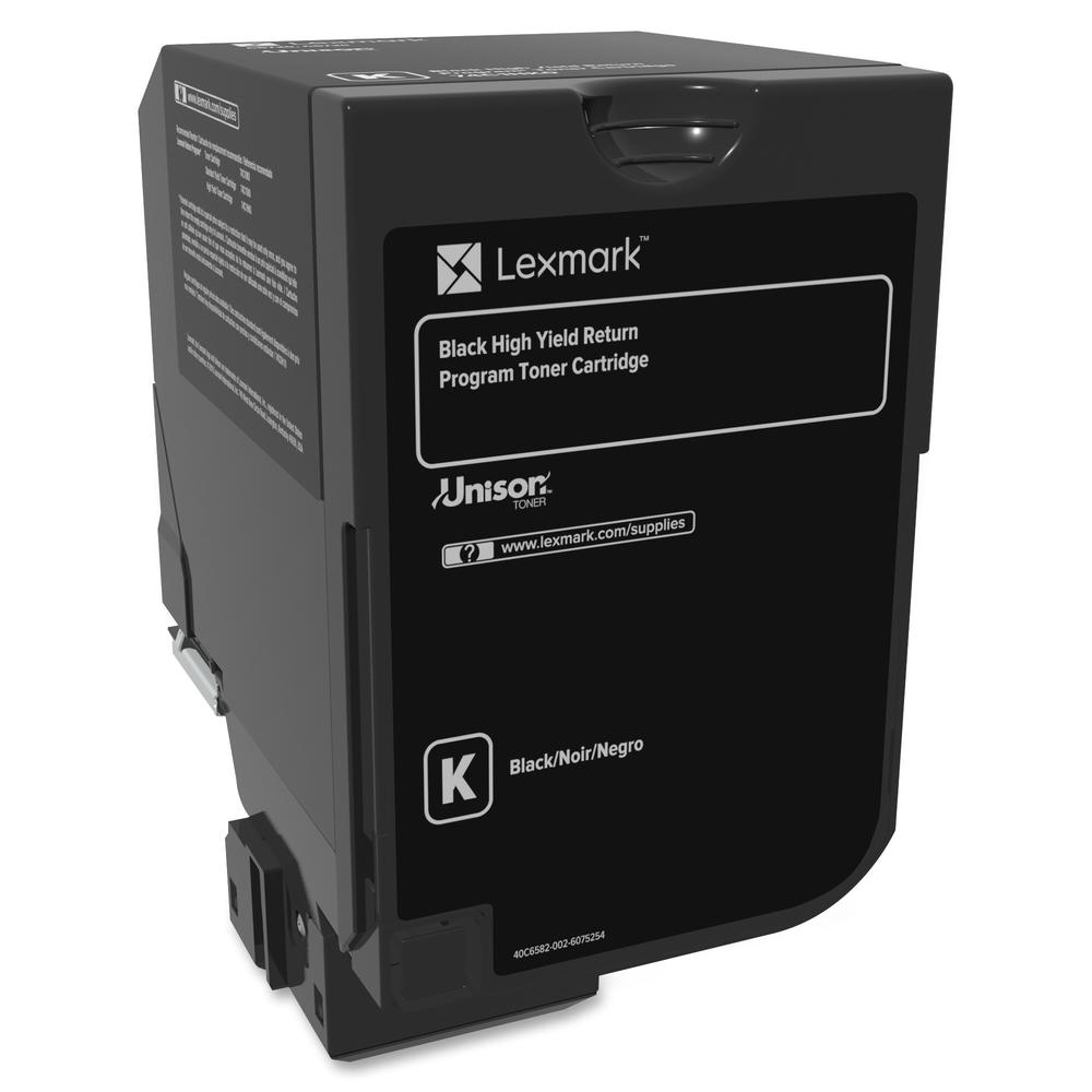 Lexmark Unison Original Toner Cartridge - Laser - High Yield - 20000 Pages - Black - 1 Each. Picture 3