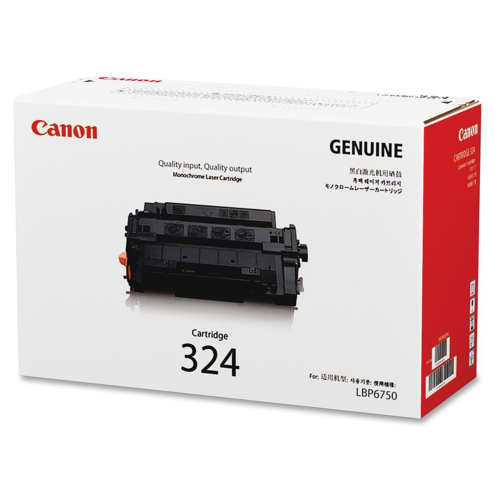 Canon 324 Original Toner Cartridge - Laser - Standard Yield - 11000 Pages - Black - 1 Each. Picture 3