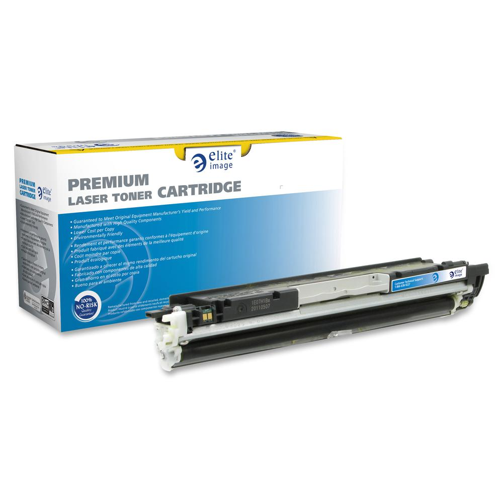 Elite Image Remanufactured Toner Cartridge - Alternative for HP 130A - Laser - 1000 Pages - Yellow - 1 Each. Picture 3
