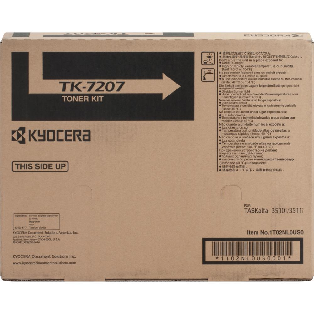 Kyocera Original Toner Cartridge - Laser - 35000 Pages - Black - 1 Each. Picture 3