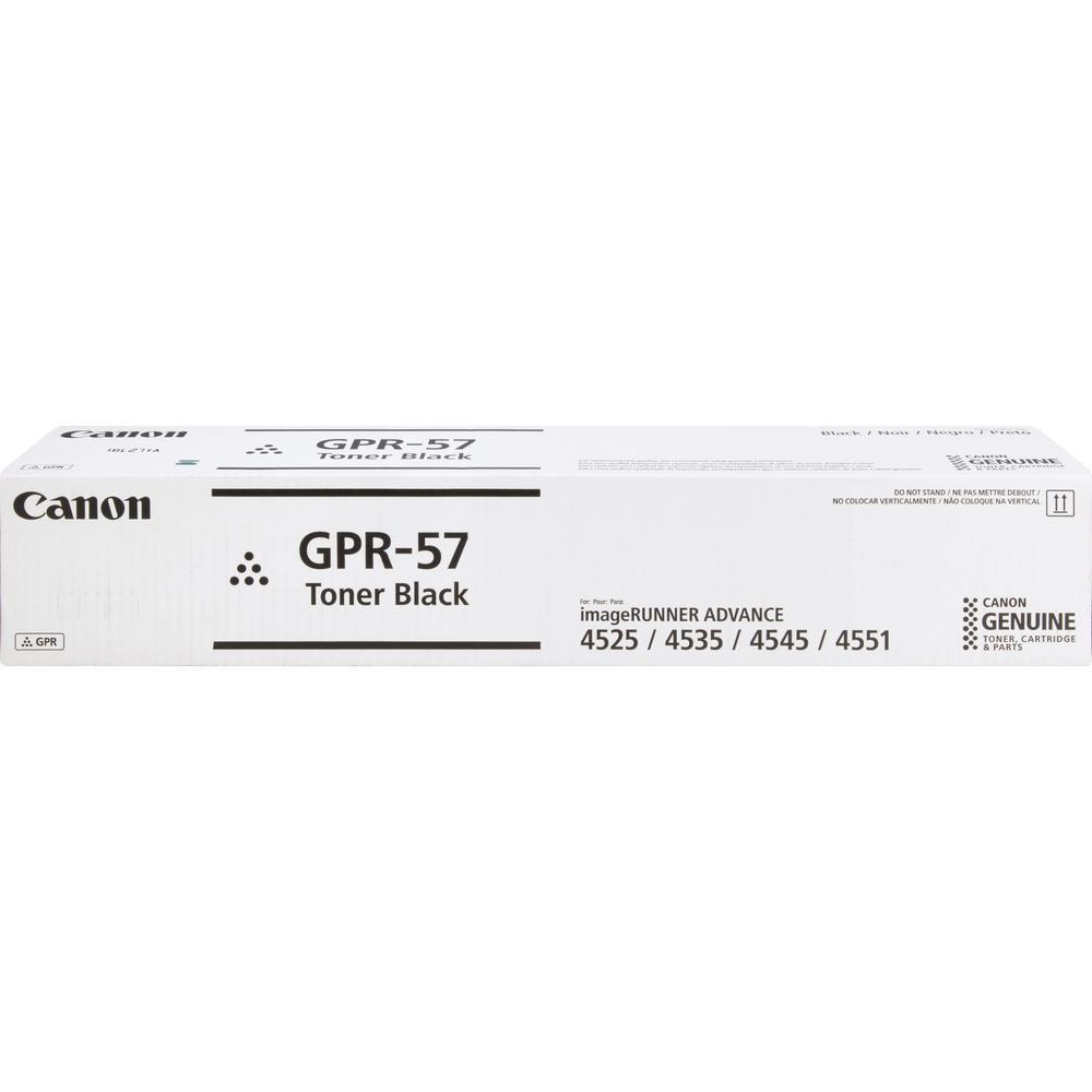 Canon GPR-57 Original Toner Cartridge - Black - Laser - 42100 Pages - 1 Each. Picture 2