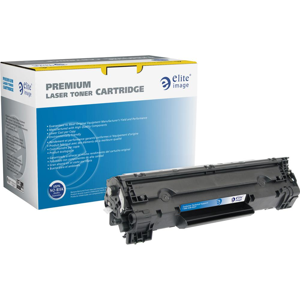 Elite Image Remanufactured MICR Toner Cartridge - Alternative for HP 83X (CF283X) - Black - Laser - High Yield - 22000 Pages - 1 Each. Picture 2