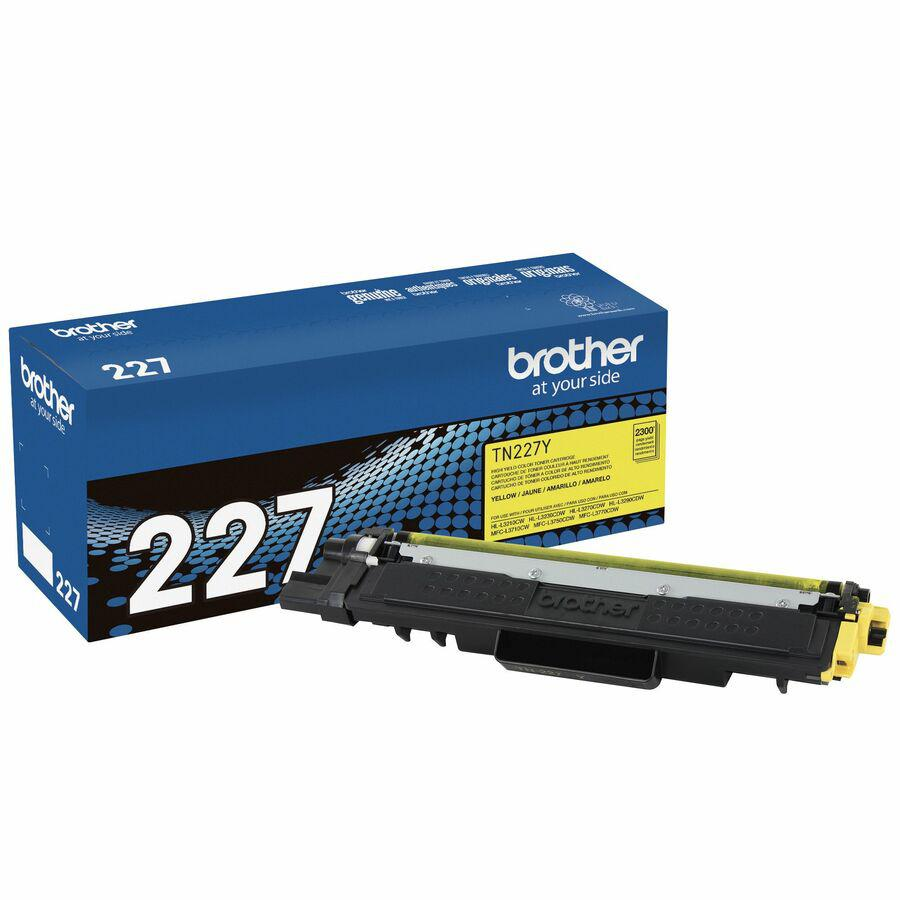 Brother Genuine TN-227Y High Yield Yellow Toner Cartridge - Laser - High Yield - 2300 Pages - 1 Each. Picture 5