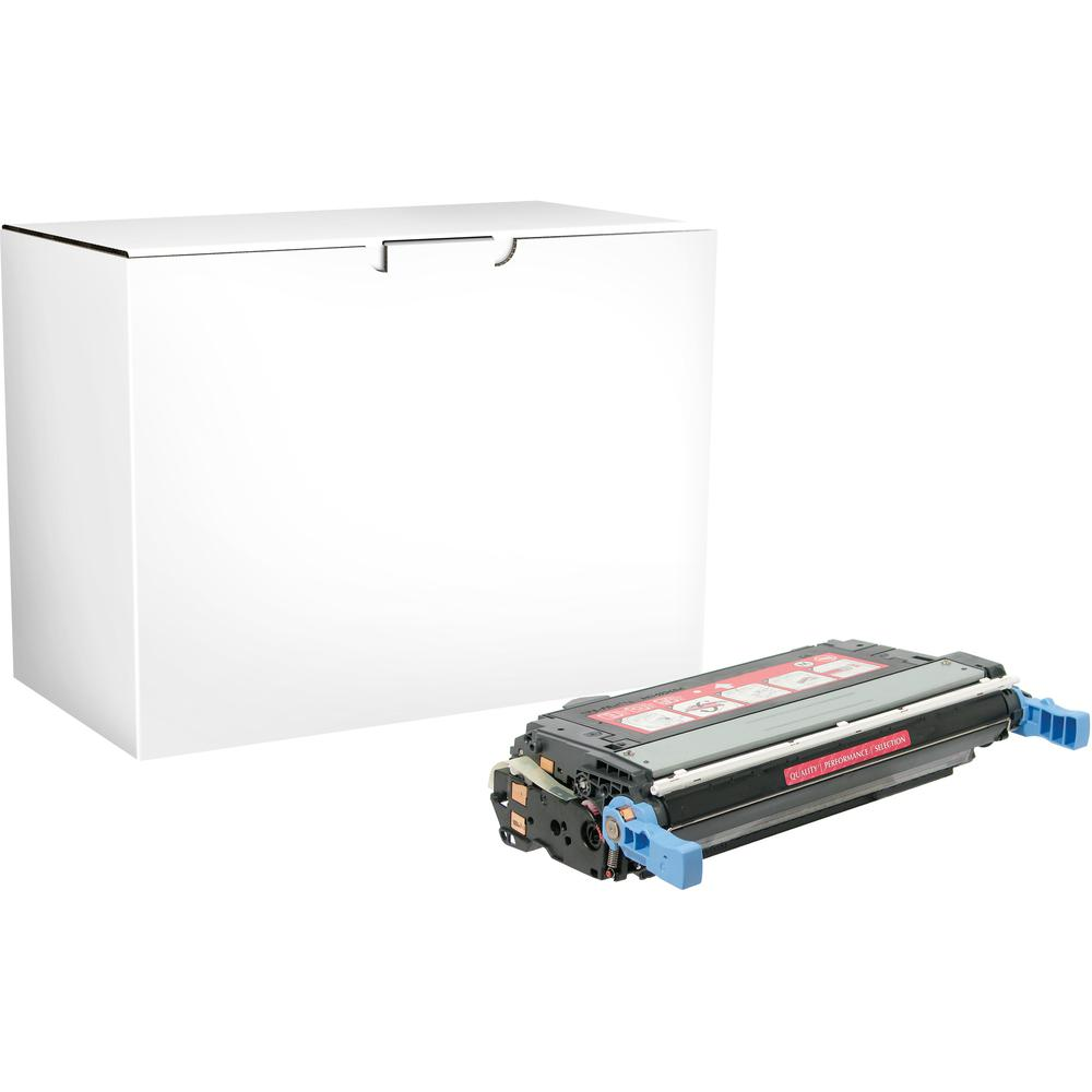 Elite Image Remanufactured Toner Cartridge - Alternative for HP 644A - Magenta - Laser - 12000 Pages - 1 Each. Picture 2