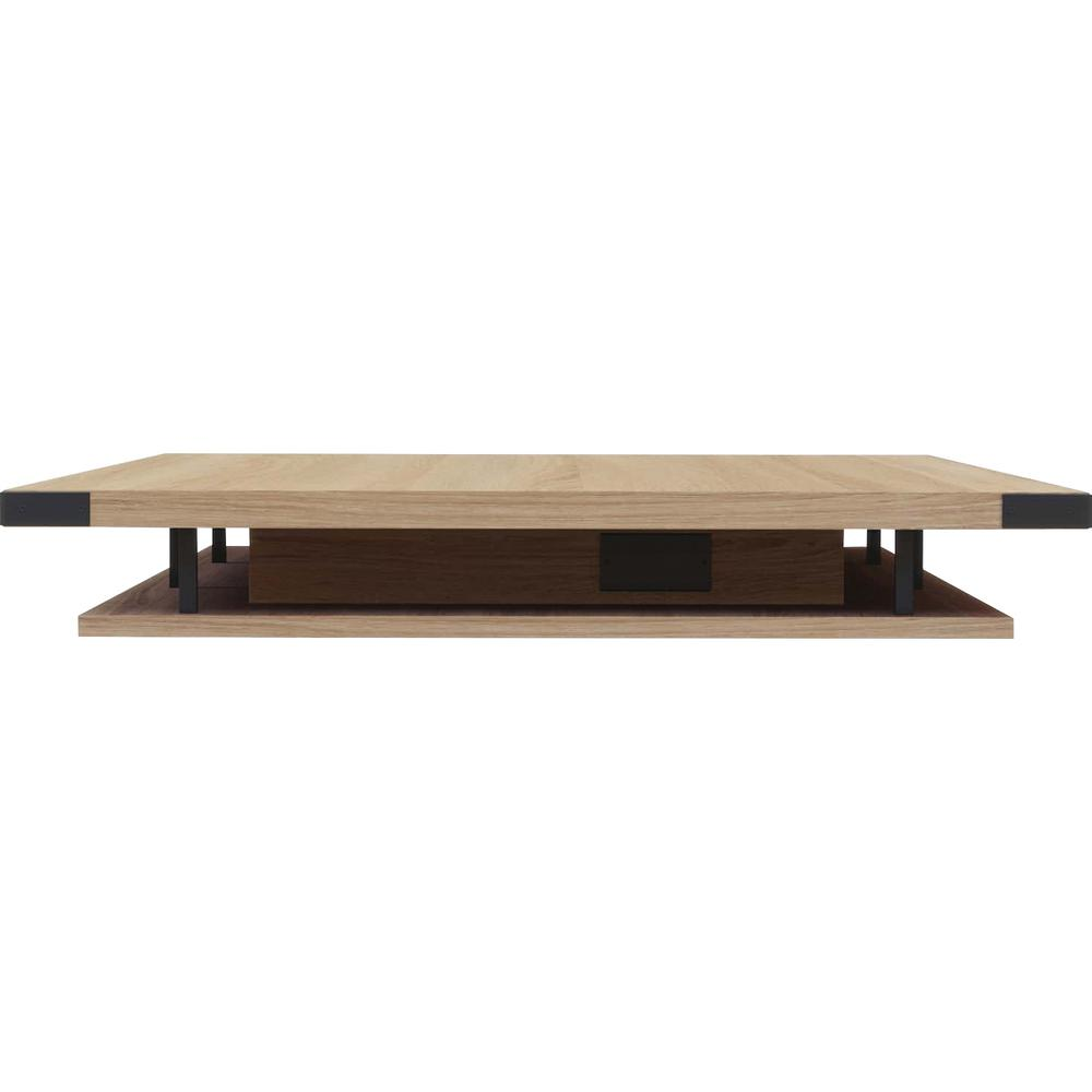 """Safco 8' Mirella Sand Dune Conference Tabletop - 96"""" x 47.3"""" Table Top - Material: Particleboard - Finish: Sand Dune, Laminate. Picture 6"""