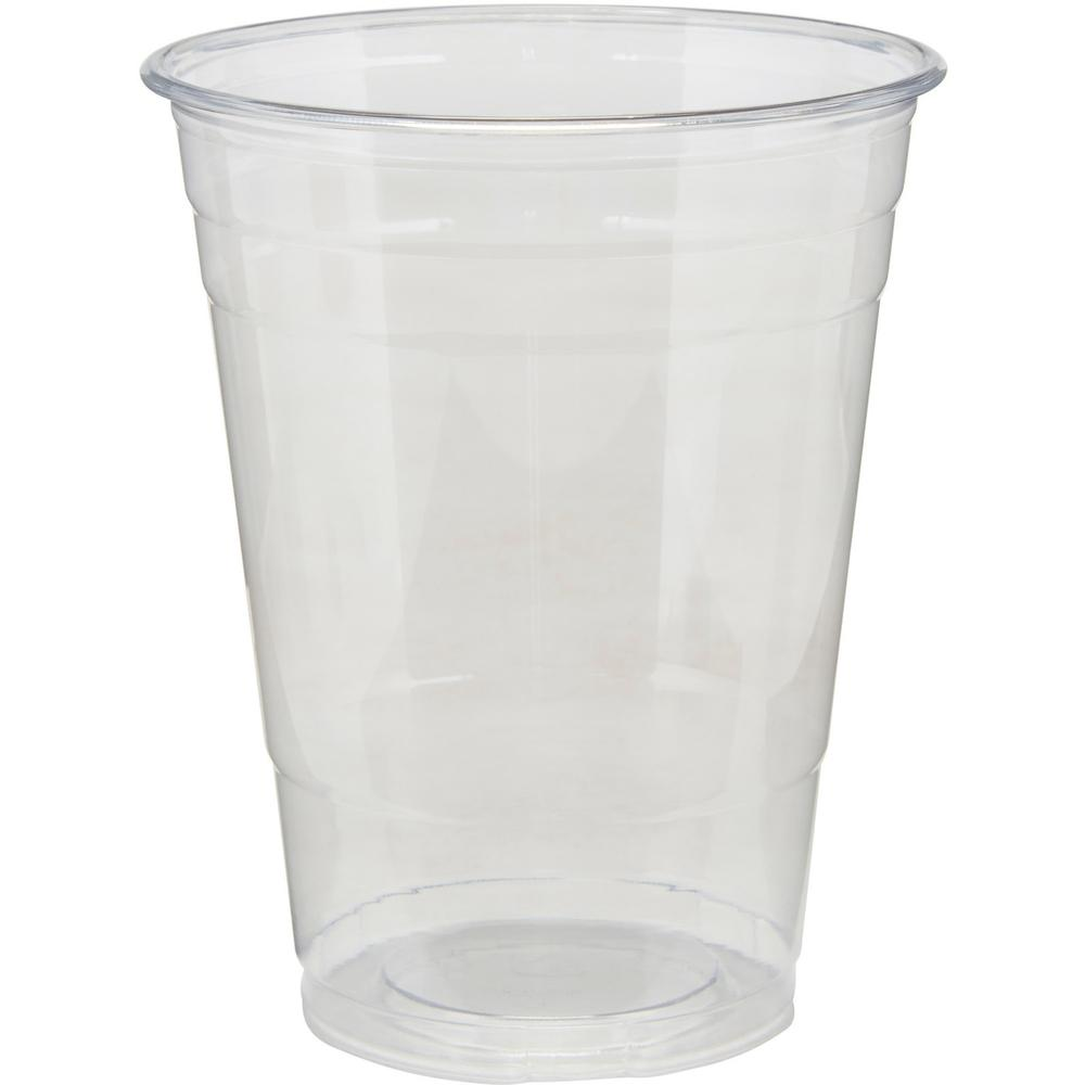 Dixie Cold Cups by GP Pro - 16 fl oz - 25 / Pack - Clear - PETE Plastic - Soda, Iced Coffee, Sample, Breakroom, Restaurant, Lobby, Coffee Shop. Picture 3