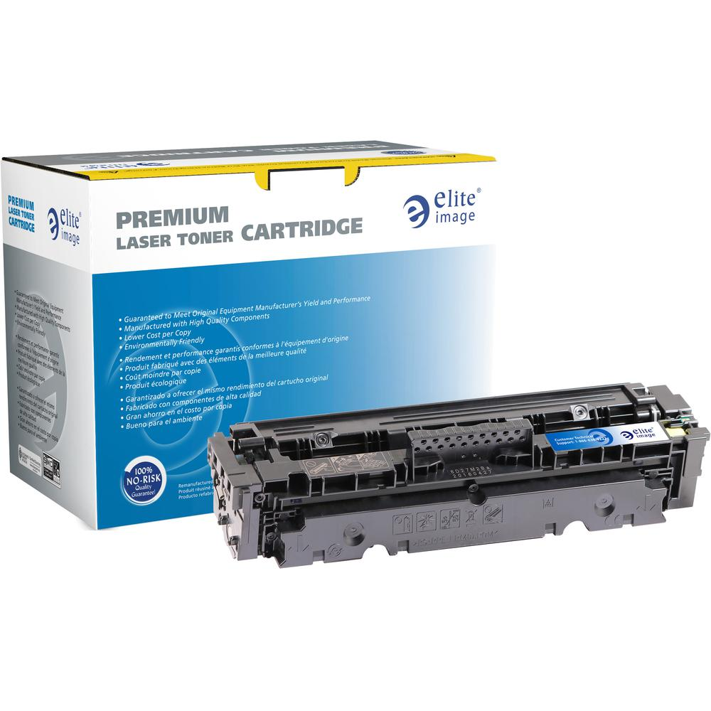 Elite Image Remanufactured Toner Cartridge - Alternative for HP 410X - Cyan - Laser - 5000 Pages - 1 Each. Picture 2